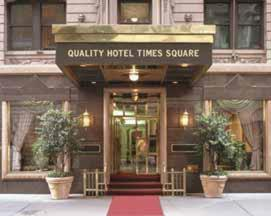 The Quality Hotel Times Square