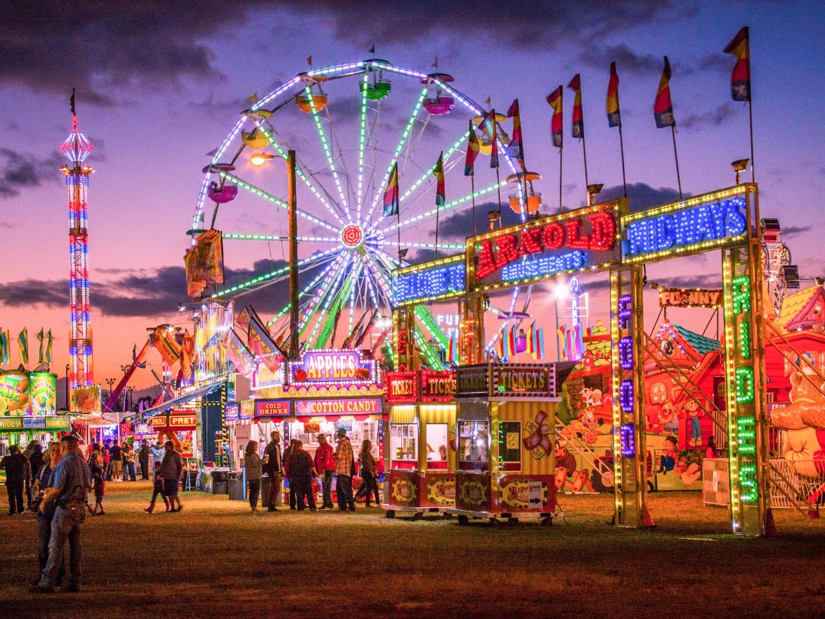 Hop on a carnival ride at the L.A. County Fair from August 30th until September 1st