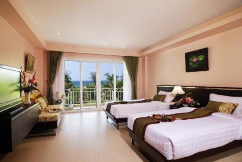 hotel pas cher a ban patong en thailande koh thai thanthip villa. Black Bedroom Furniture Sets. Home Design Ideas