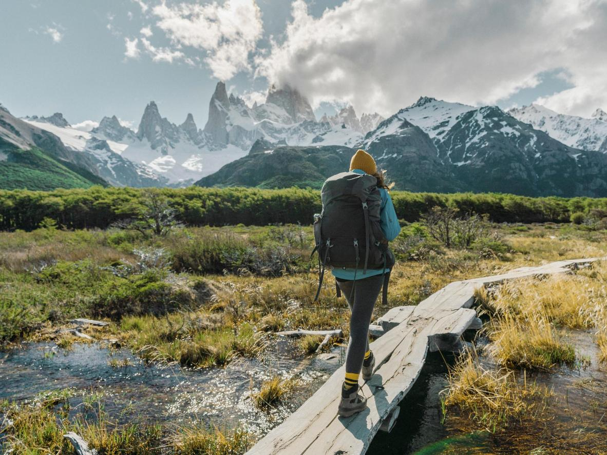 Take the Fitz Roy day hike for amazing views of Mount Fitz Roy