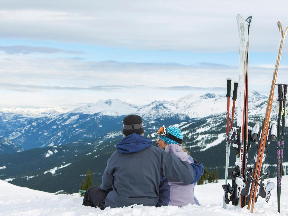 Plan an unforgettable proposal on top of a mountain in Whistler