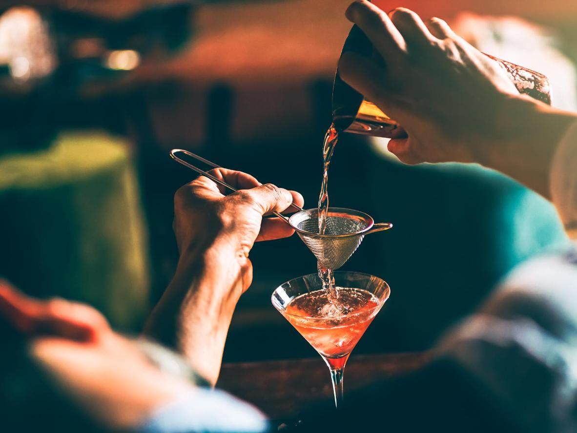 Order their signature cocktail or try something new on their forever-changing menu