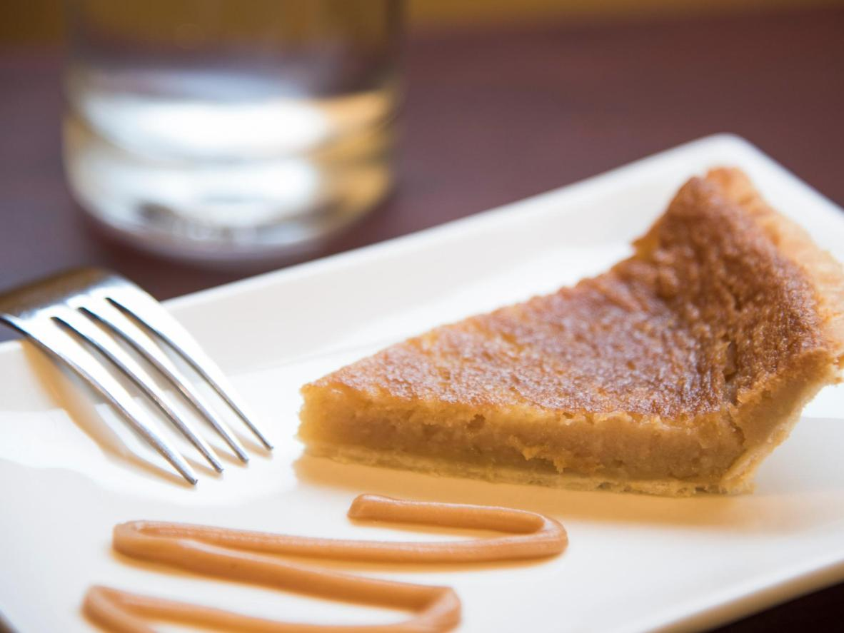 The French-Canadian tarte au sucre uses maple sugar or syrup as the sweetener instead of brown sugar