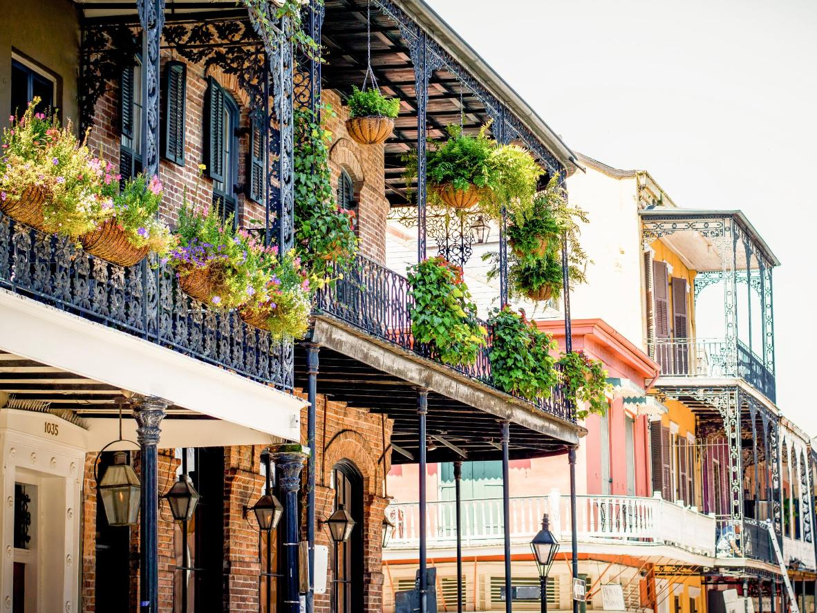 Stay in the French Quarter of New Orleans