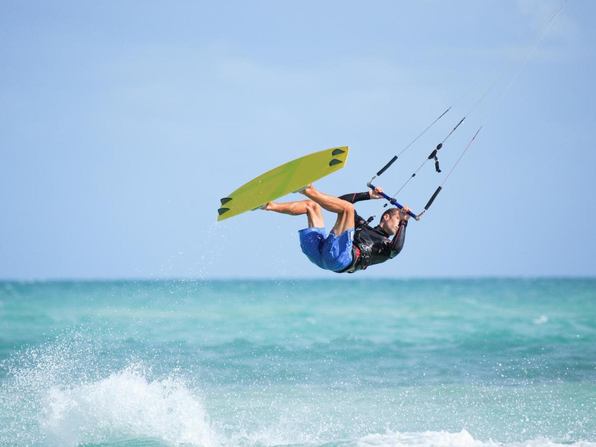 La Ventana is a welcoming spot for those new to kitesurfing