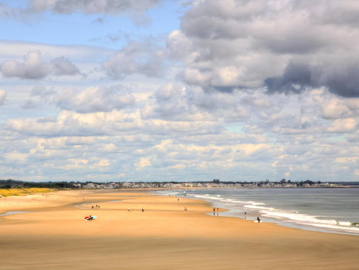 Walk along the caramel-coloured, soft sand or cruise along the coast on a bike