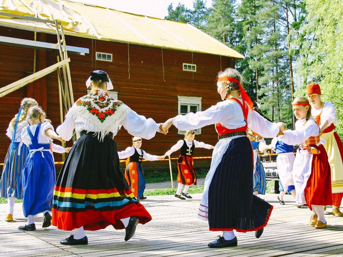 In Finland, the louder you sing at Midsummer the luckier you'll be for the coming year