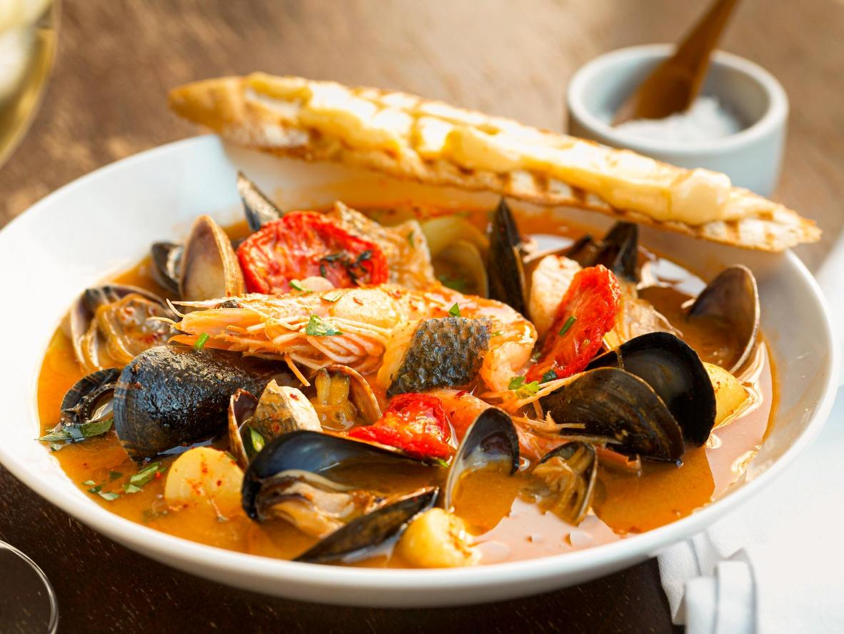 The hearty and delectable bouillabaisse is a staple in Marseille