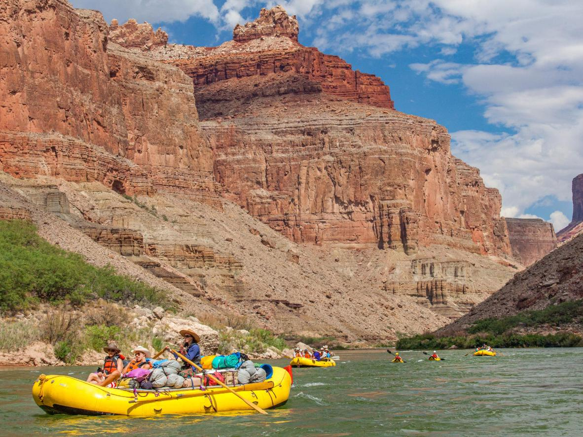 Accessible white water rafting on the Colorado River