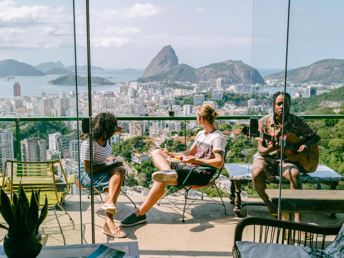 Head to Rio de Janeiro for its beaches and samba-fuelled party scene