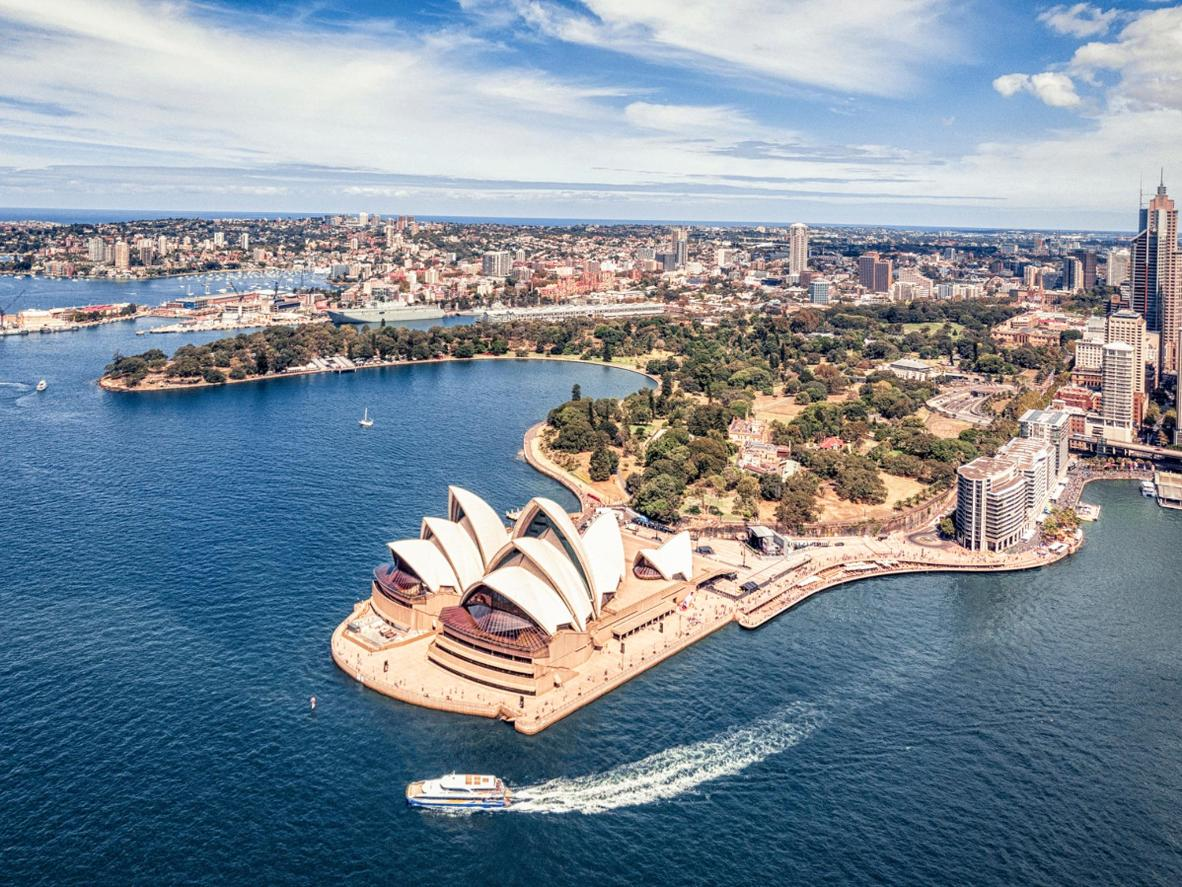 Don't be daunted by the Opera House steps; Sydney is one of the world's most accesible cities