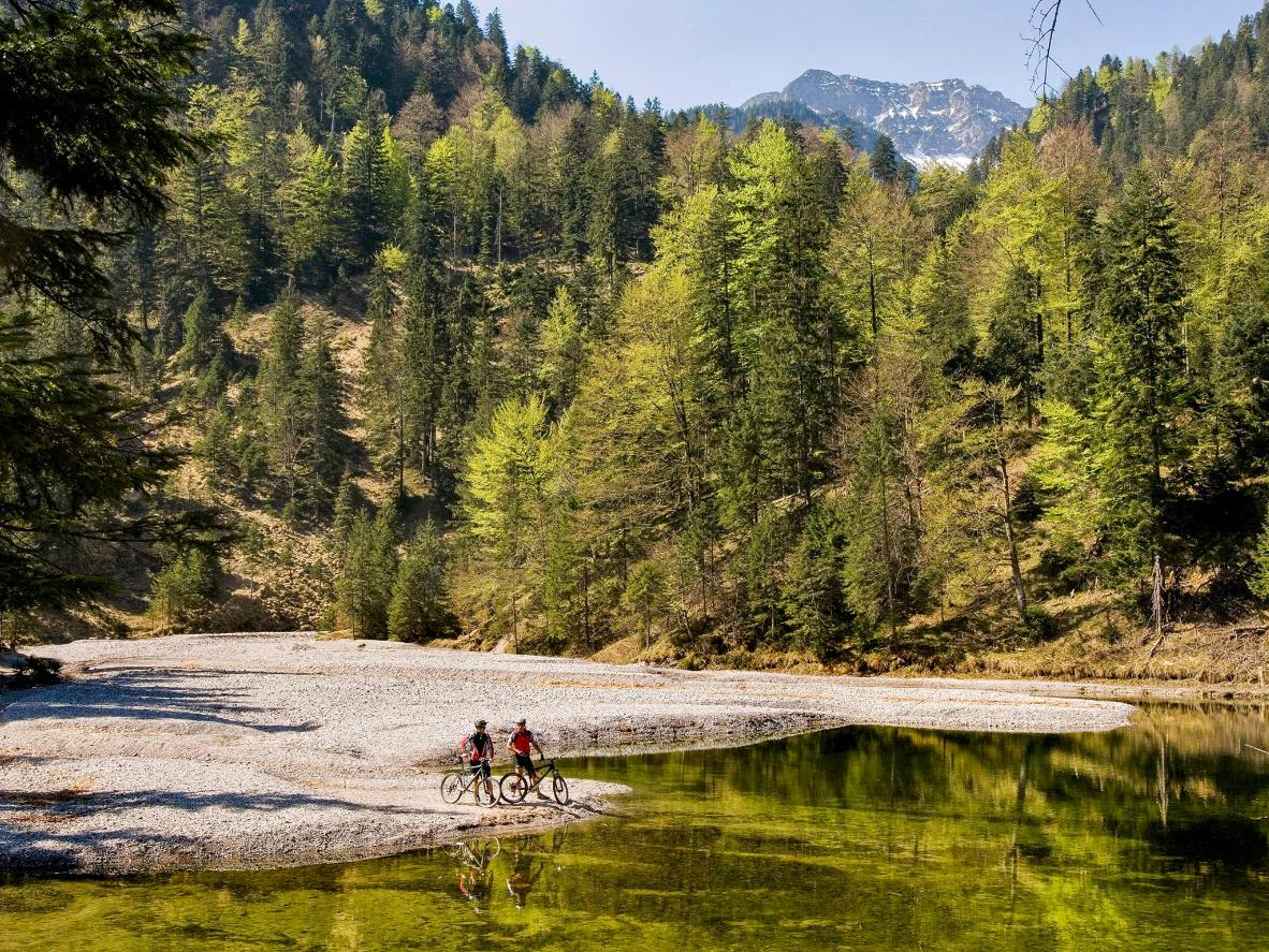 Discover exhilarating and scenic Bavarian mountain biking routes in Garmisch-Partenkirchen