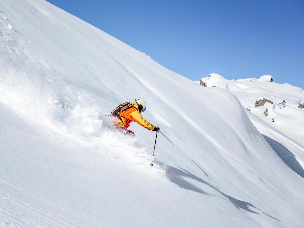 239km of north-facing, 2000-metre-high slopes in Ischgl means plenty of late season snow