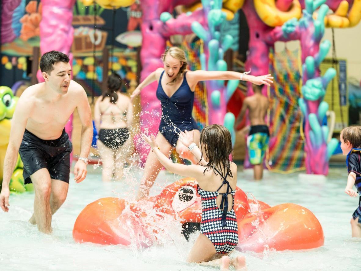 It's always summertime at the nation's largest indoor waterpark