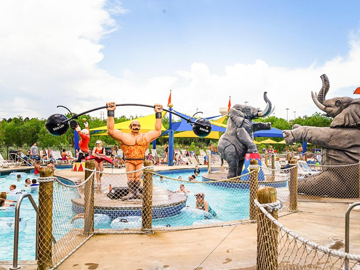 Only a few miles from the mile-high city, is a whole world of waterpark fun