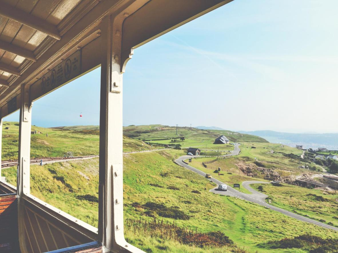 Let the Great Orme Tramway show you the scenery of Llandudno