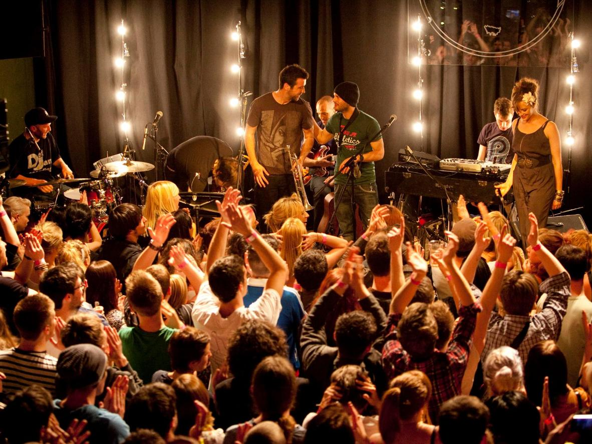 Dance the night away at the many venues with live music