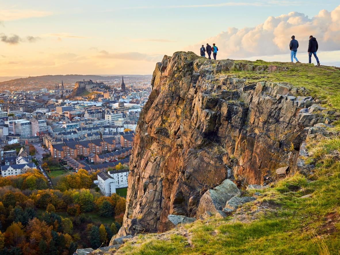 Head to the peak of Arthur's Seat for breathtaking views