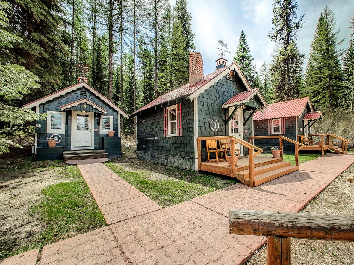 These charming cottages at Brundage Bungalows make for a perfect getaway