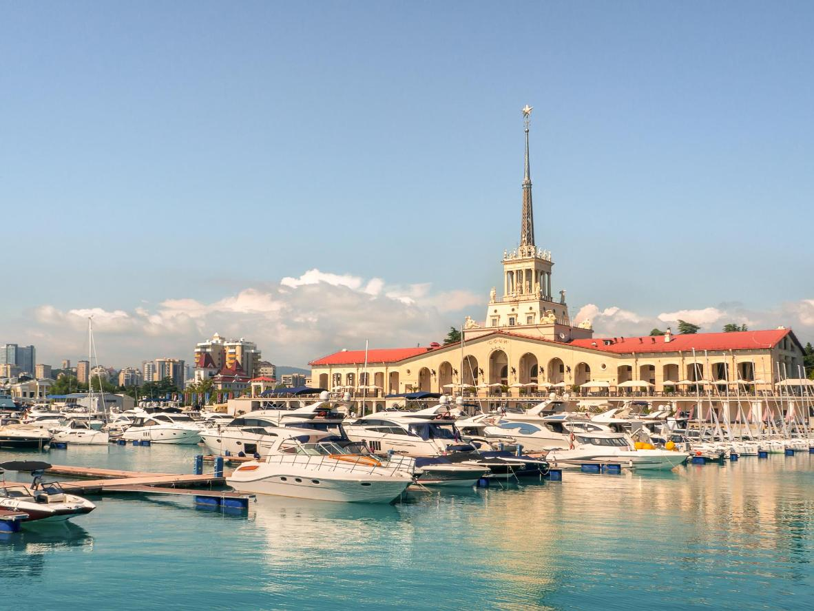 The luxury travel destination of Sochi is the perfect addition to your wish list