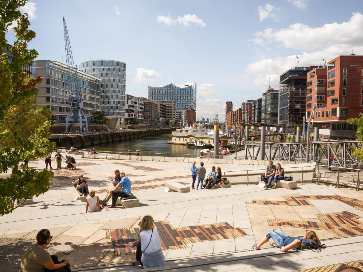The port of Hamburg is the perfect starting point for an excursion or just to relax