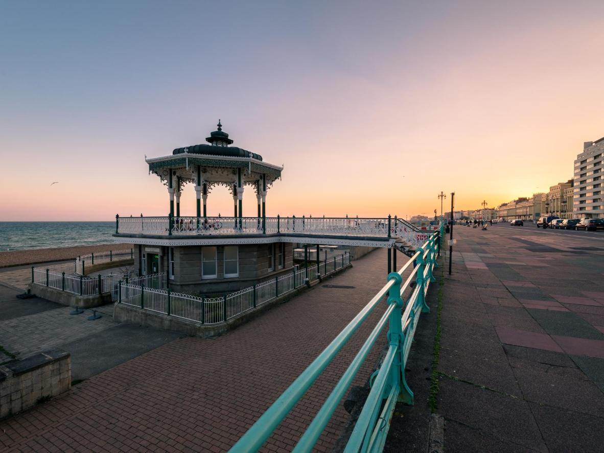 Wander along the elegant promenade and soak in the sea view