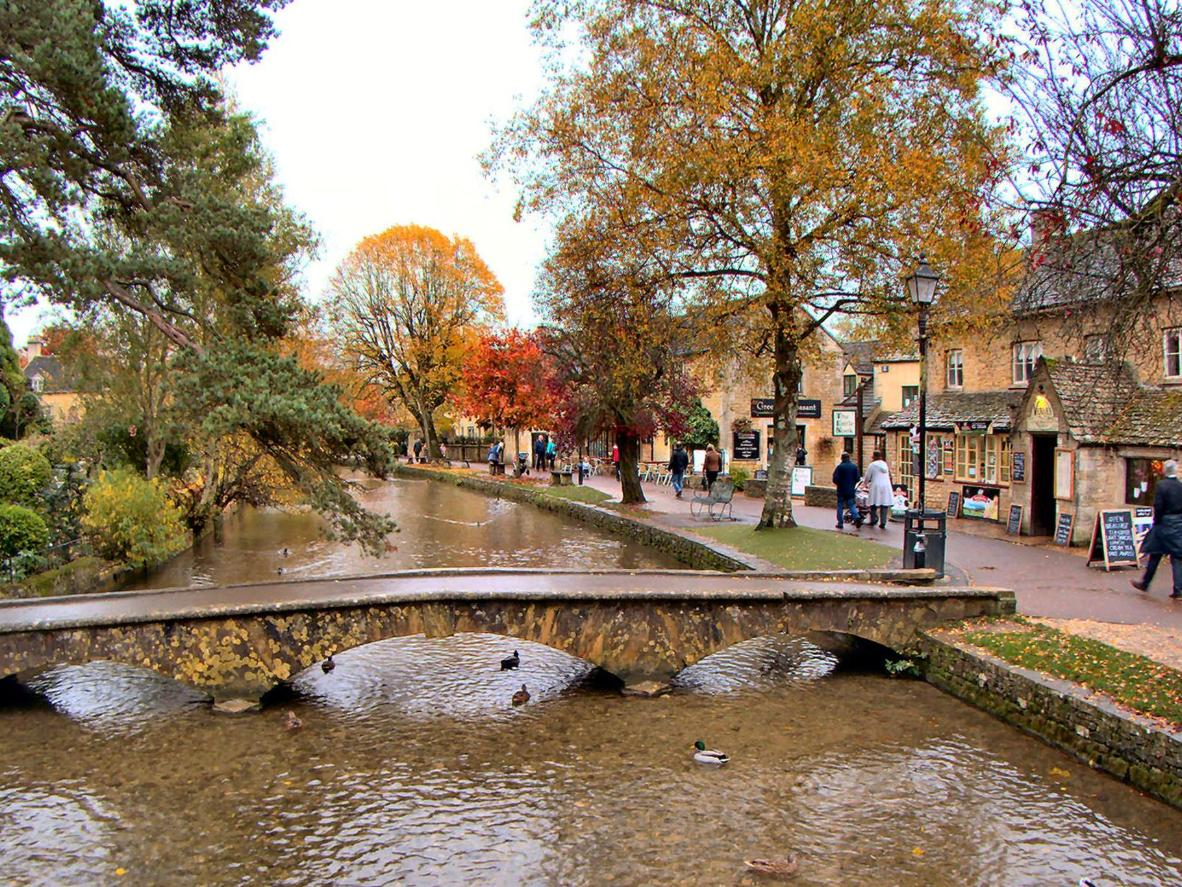 The idyllic Cotswolds village of Bourton-on-the-Water