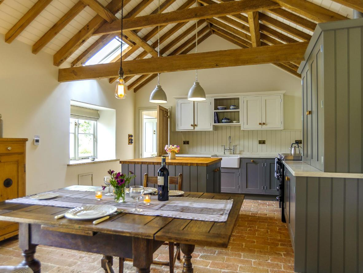Rustle up a nice after-work dinner in Pea Cottage's spacious kitchen
