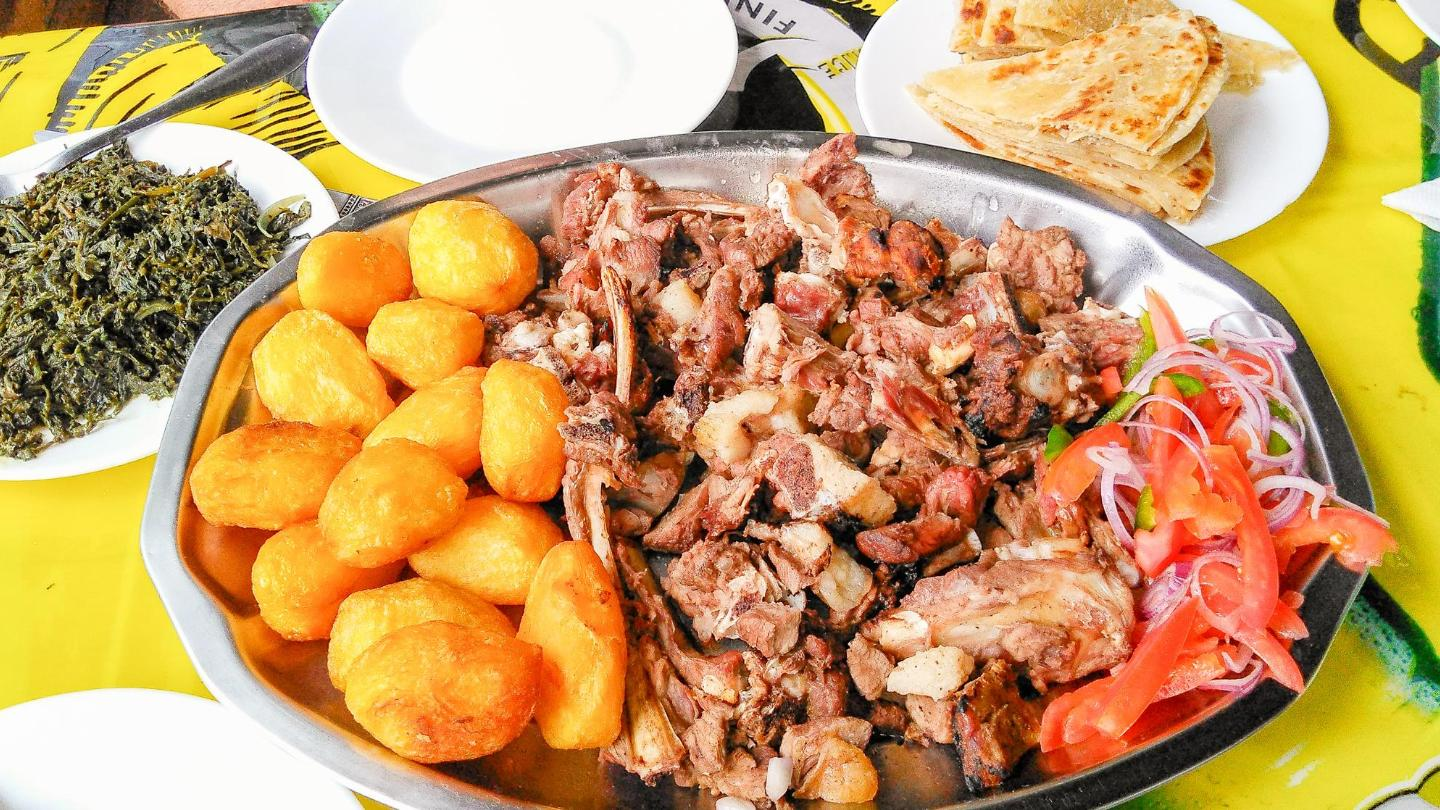 Prepare to get your hands dirty when you dig into nyama choma